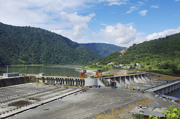 Ecuador Hydropower Station