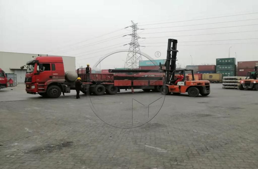 22kg Steel Rail and QU80 Crane Rail Exported to Brazil