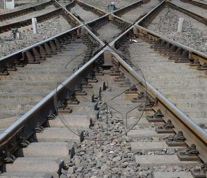 which material used in railway track